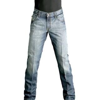 Cinch Western Denim Jeans Mens Carter Medium Wash MB96134001
