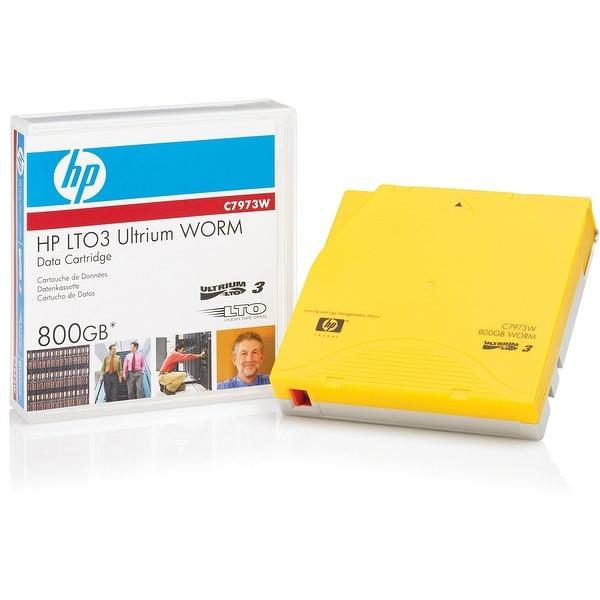 Hewlett Packard Enterprise - Hp - 1 X Lto Ultrium Worm 400 Gb / 800 Gb - Ultrium 3 - Storage Media