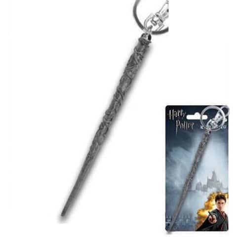 Harry Potter Pewter Key Ring: Hermione's Wand - gray