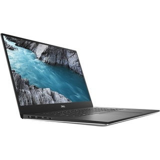 """Dell XPS 15-9570 Intel Core i7-8750H X6 2.2GHz 16GB 512GB SSD 15.6"""", Silver (Certified Refurbished)"""