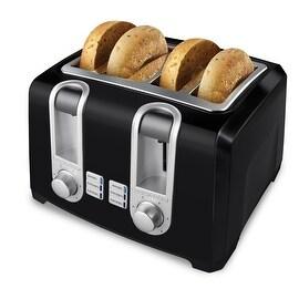 Black & Decker T4569B Toaster, 4-Slice, Black
