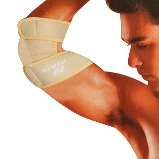 Unique Bargains Unique Bargains Stretchy Neoprene Elbow Support Brace Joint Muscle Protective Guard For Men