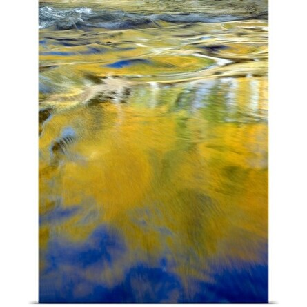Poster Print entitled Water Abstract