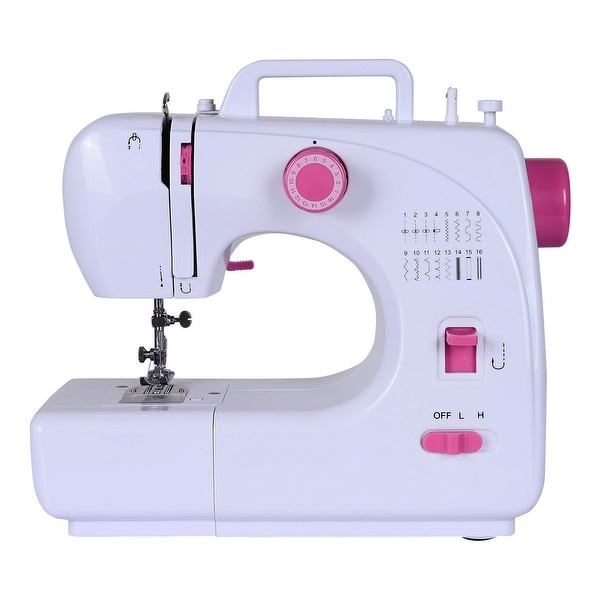 Shop Costway Sewing Machine FreeArm Crafting Mending Machine With Beauteous White Sewing Machine For Sale