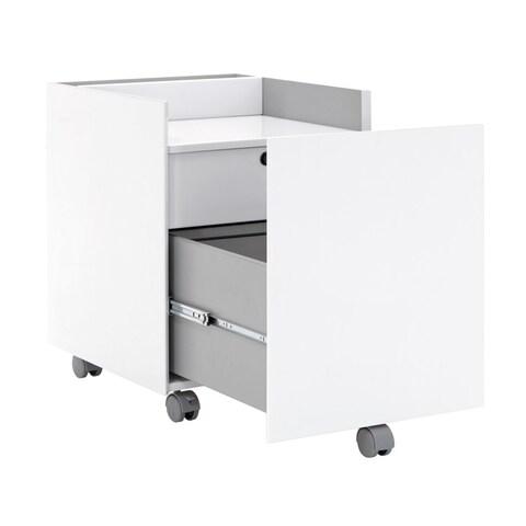 Offex Niche File Cabinet Gray - White