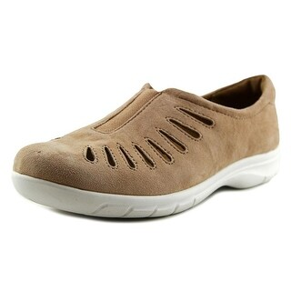 Comfortiva Tinsley Women N/S Round Toe Suede Tan Clogs