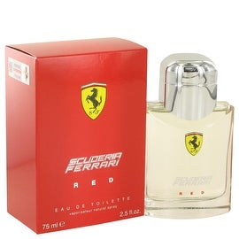 Ferrari Scuderia Red by Ferrari Eau De Toilette Spray 2.5 oz - Men