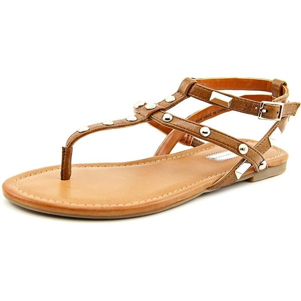 INC International Concepts Mirabai 2 Women Cognac Sandals
