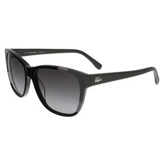 Lacoste L775/S 001 Black/Grey Wayfarer sunglasses Sunglasses