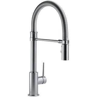 Delta 9659-DST  Trinsic Pro Pre-Rinse Pull-Down Kitchen Faucet with Magnetic Docking Spray Head