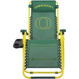 Comfy Feet OREZGC Oregon Ducks Synthetic Fabric Zero Gravity Chair
