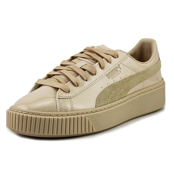 f1581168747958 Shop Puma Basket Platform Patent Leather Fashion Sneakers - Free ...