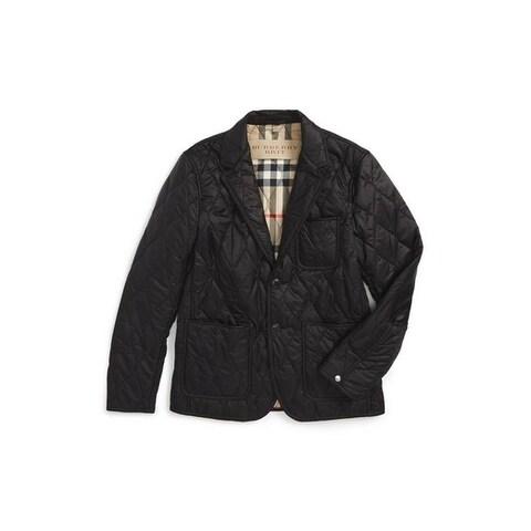Burberry Gillington Black Quilted Jacket
