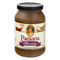 Paesana Cooking Marsala - Sauce - Case of 6 - 15.75 oz.