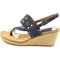 Style & Co. Womens Jazzmin Open Toe Casual Wedged Sandals