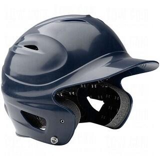 Under Armour Adult Solid Batting Helmet (Navy Blue)