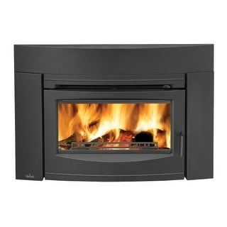 Napoleon EPI3C 55000 BTU Insert Wood Burning Fireplace with Contemporary Front from the Oakdale Series