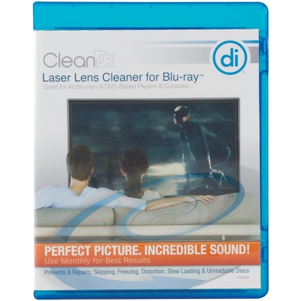 Digital Innovations 4190300 Cleandr(R) For Blu-Ray(Tm) Laser Lens Cleaner