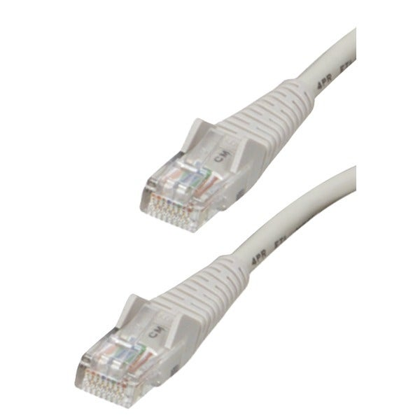 Tripp Lite N001-025-Gy Cat-5E Snagless Molded Patch Cable (25Ft)