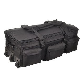 Sandpiper of California Rolling Load Out Bag - Black - 2037-O-BLK