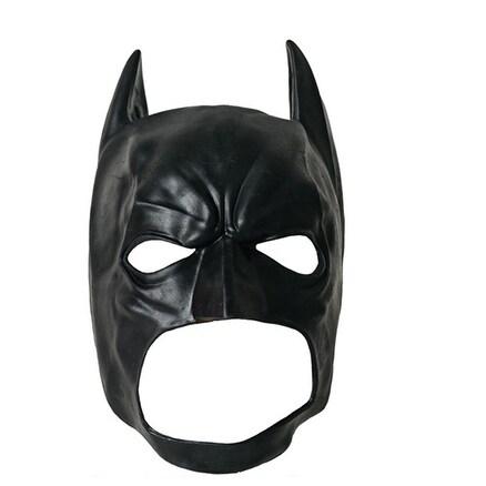 Shop Batman Adult Full Latex Mask For Halloween Costume Standard