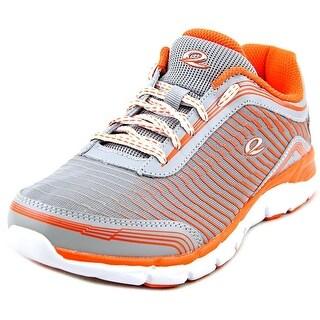 Easy Spirit e360 Ignite Women W Round Toe Leather Orange Sneakers