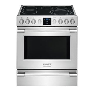 Frigidaire FPEH3077R 30 Inch Wide 5.1 Cu. Ft. Free Standing Electric Range with Convection from the Professional Collection