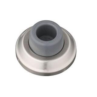 Stanley 75-0164 Concave Wall Doorstop, Satin Nickel