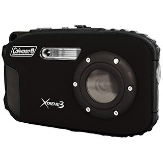 Coleman Cable ELBC9WPBKB Coleman Xtreme3 20 MP Waterproof Digital Camera