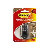 Command FC11-ORB Forever Classic Small Metal Hook, Oil-Rubbed Bronze