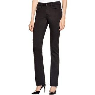 NYDJ Womens Bootcut Pants Solid Slimming
