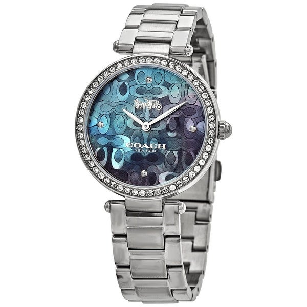 Coach Women's 14503221 'Park ' Stainless Steel Watch - Blue. Opens flyout.