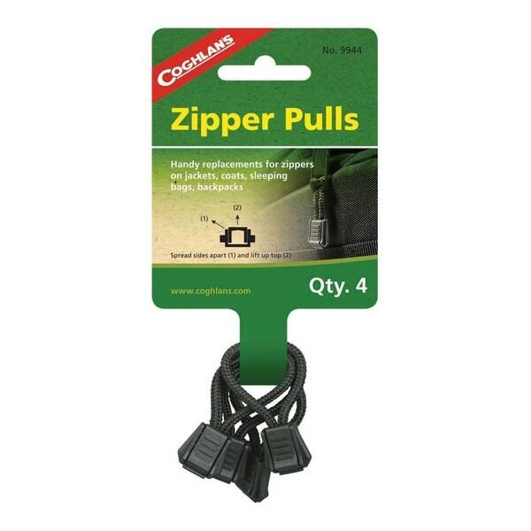 Coghlan's 9944 Tent Replacement Zipper Pulls, 4 Pack ...