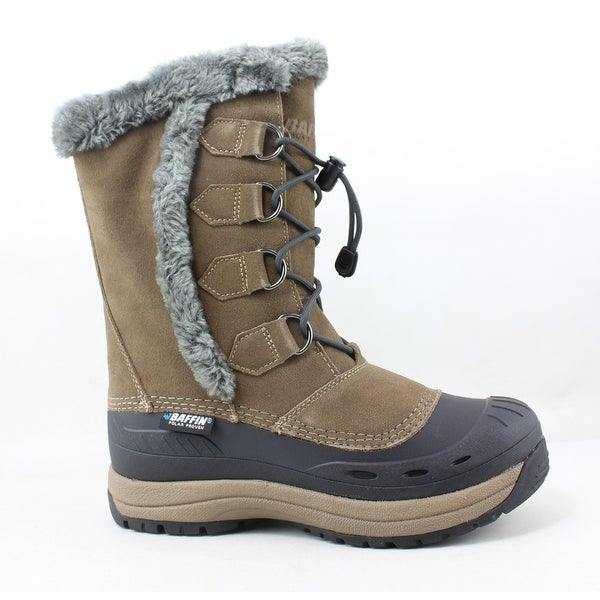 be5cc87ca1f Shop Baffin Womens Chloe Taupe Snow Boots Size 9 - Free Shipping ...