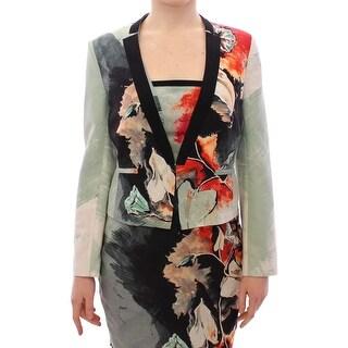 SACHIN & BABI SACHIN & BABI Multicolor Short Floral Blazer Jacket