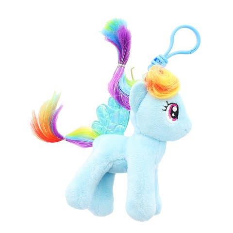 "My Little Pony Rainbow 6"" Rainbow Dash Plush Clip-On - multi"