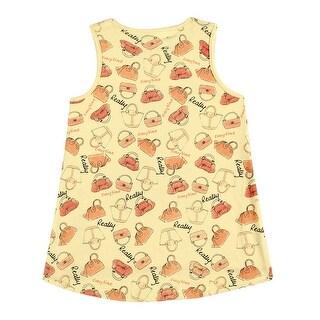 Toddler Girl Tank Top Little Girl Graphic Sleeveless Shirt Pulla Bulla 1-3 Years
