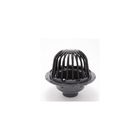 "PROFLO PF42850 3"" PVC Roof Drain with Cast Iron Dome"