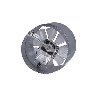 Canarm DA6S 255 CFM 2.4 Sone In-Line Boosted Duct Exhaust Fan