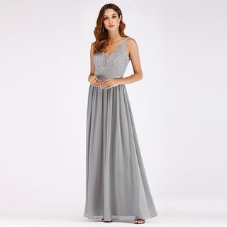 Ever-Pretty Womens A-Line Lace Evening Wedding Party Bridesmaid Dress 07516