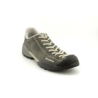 Scarpa Mojito Men  Round Toe Suede Gray Hiking Shoe