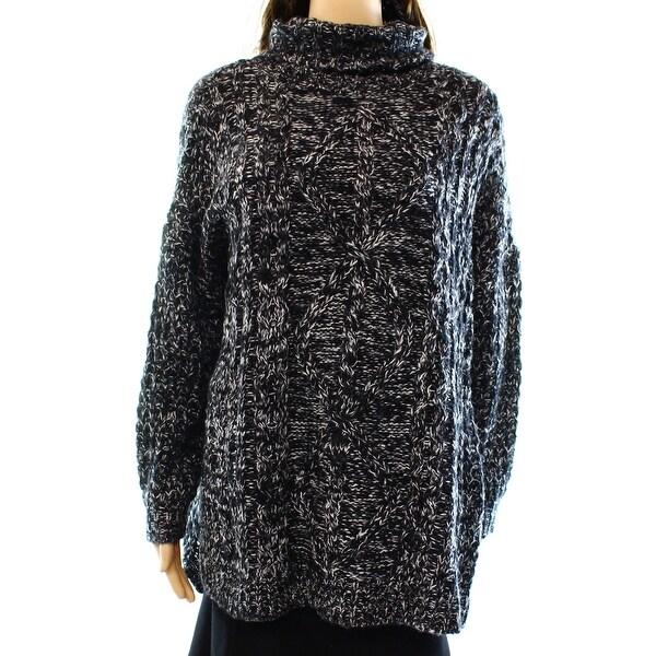 Cotton Emporium NEW Black Women's Size Medium M Turtleneck Sweater