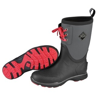 Muck Boot's Mens Arctic Excursion Lace Mid Boot Gray - Size 10