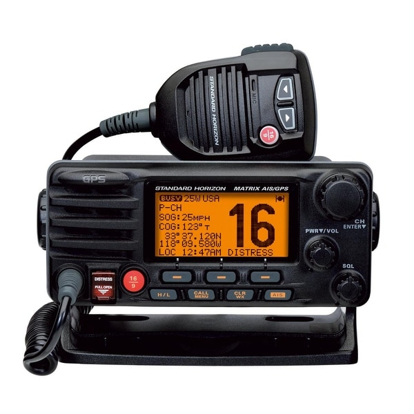 Standard Horizon Matrix Fixed Mount VHF w/AIS & GPS-Class D DSC-30W