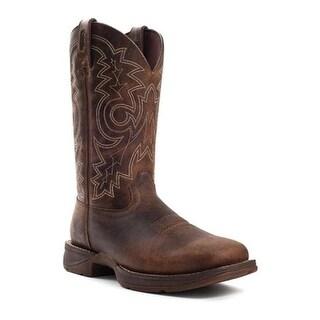 """Durango Boot Men's DB4343 12"""" Rebel Boot Brown"""