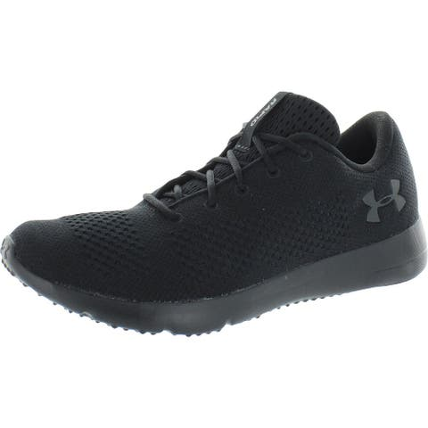 Under Armour Mens Rapid Sneakers Gym Fitness - Black