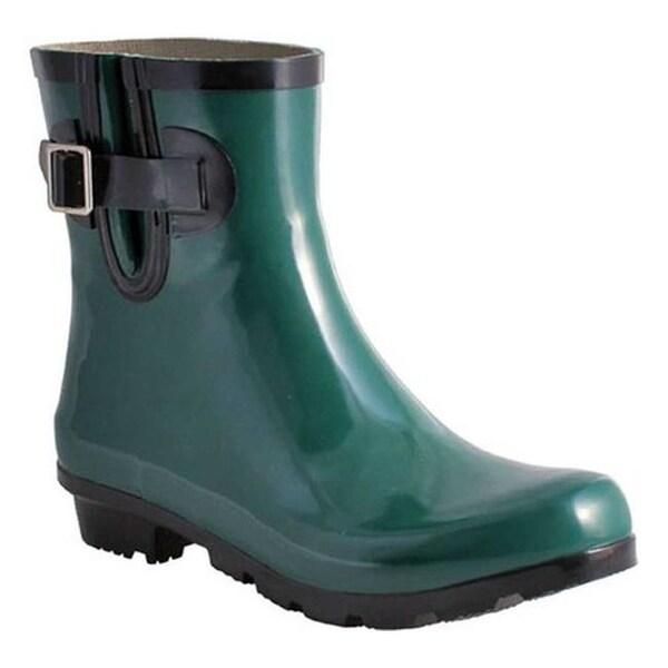 Teal Rain Boots