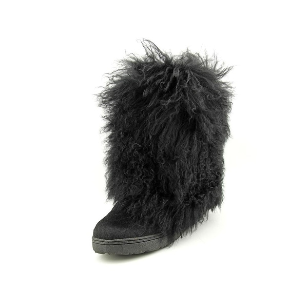 Bearpaw Boetis Women Black Snow Boots