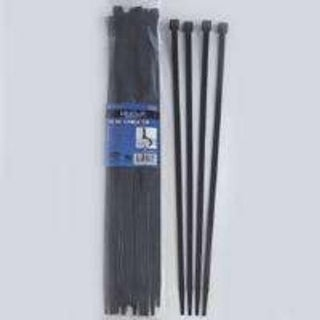 "Mintcraft CV380W-253L Nylon Cable Ties, 15"" L,Black, 25/Bag"