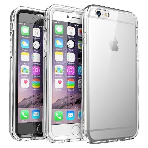 iPhone 6S Plus Case, SUPCASE Ares Full-body Rugged Clear Bumper Case with Built-in Screen Protector for Apple iPhone 6. Opens flyout.